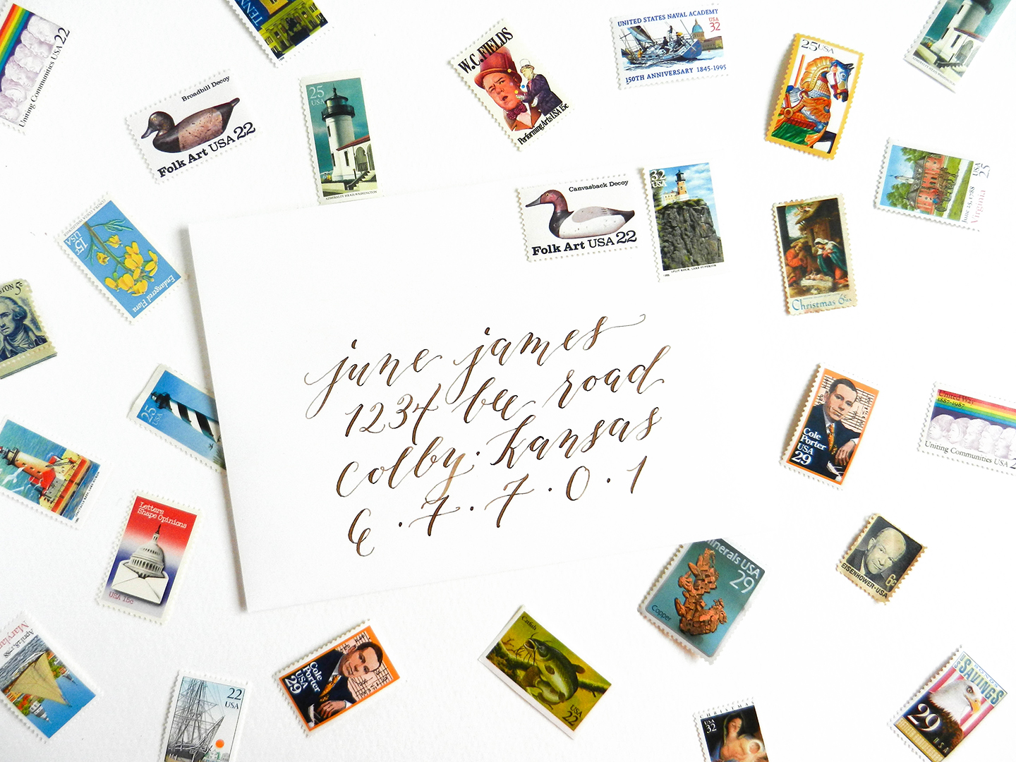 More Calligraphy Tips and Musings {Includes Videos + Giveaway}   The Postman's Knock