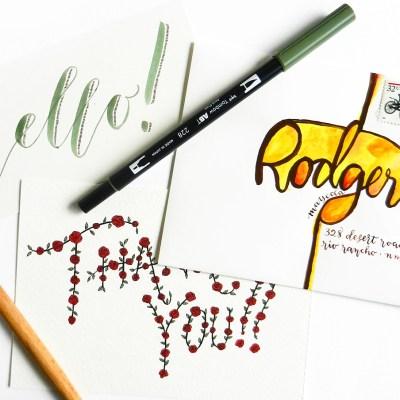 Creative Hand-Lettering Tutorials: Part I