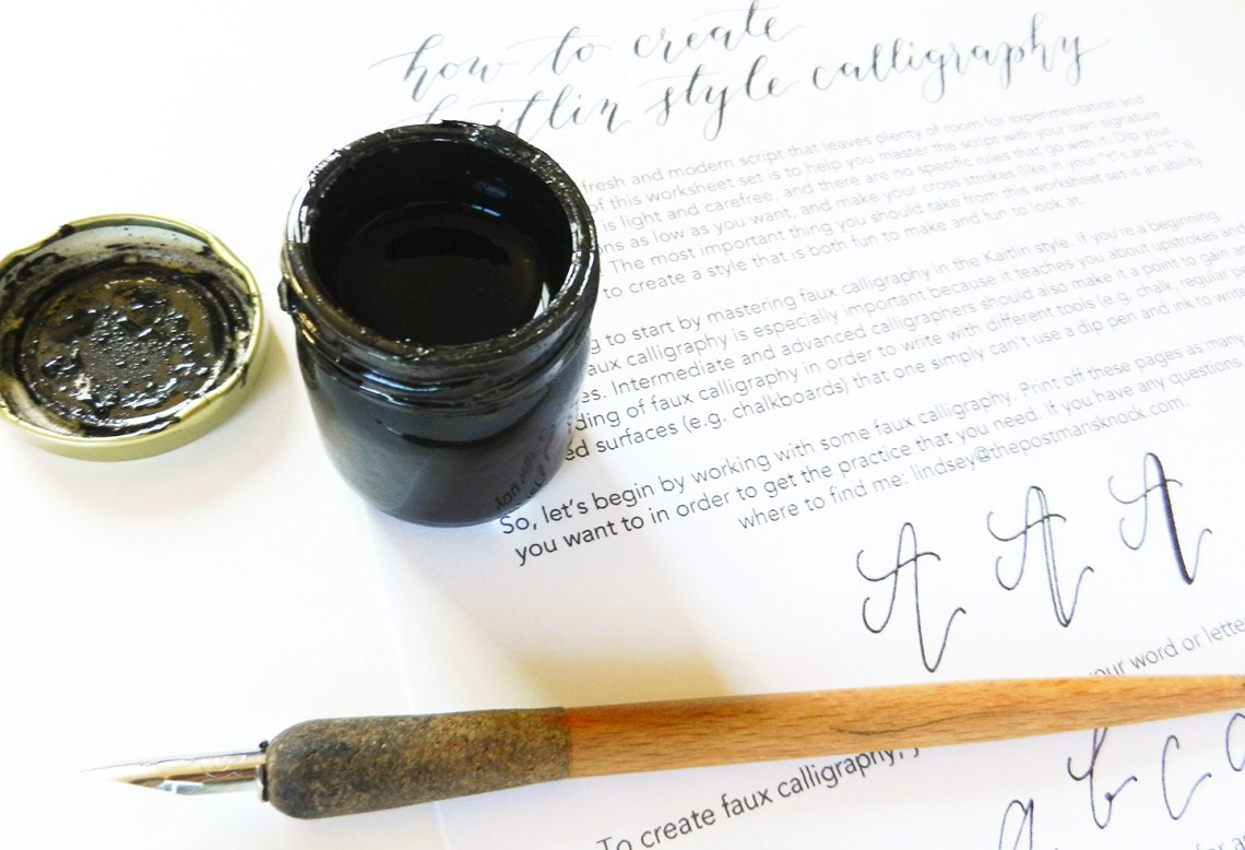 Reasons to Learn Calligraphy | The Postman's Knock