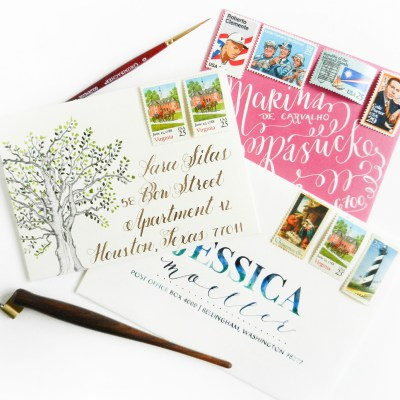 Three Easy Mail Art Ideas + an Illuminating Giveaway