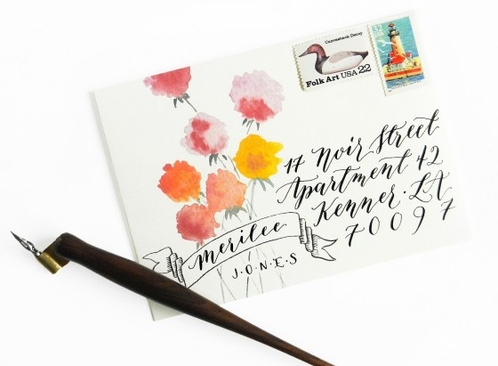 Printable Mail Art Envelope Templates | The Postman's Knock