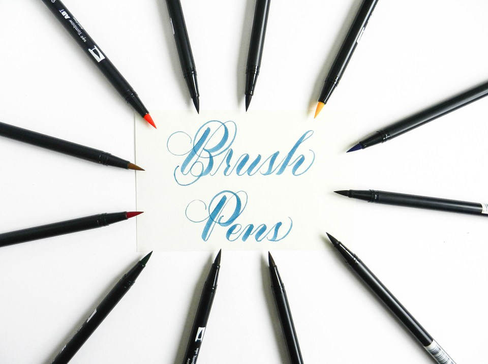 Brush Pen Tutorial | The Postman's Knock