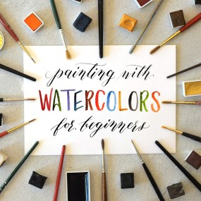 Painting with Watercolors for Beginners