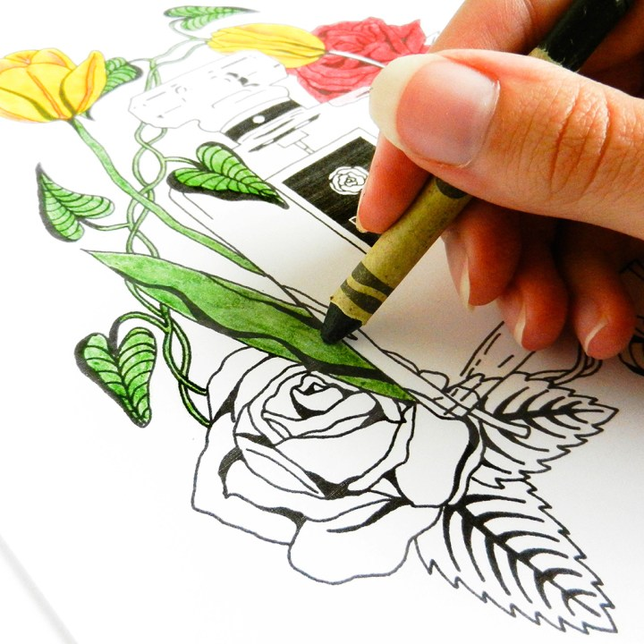 Free Adult Coloring Pages + Why Coloring is Cool   The Postman's Knock