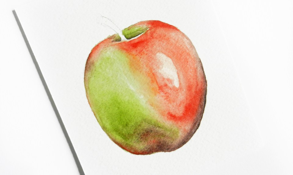 Painting with Watercolors for Beginners Part II | The Postman's Knock