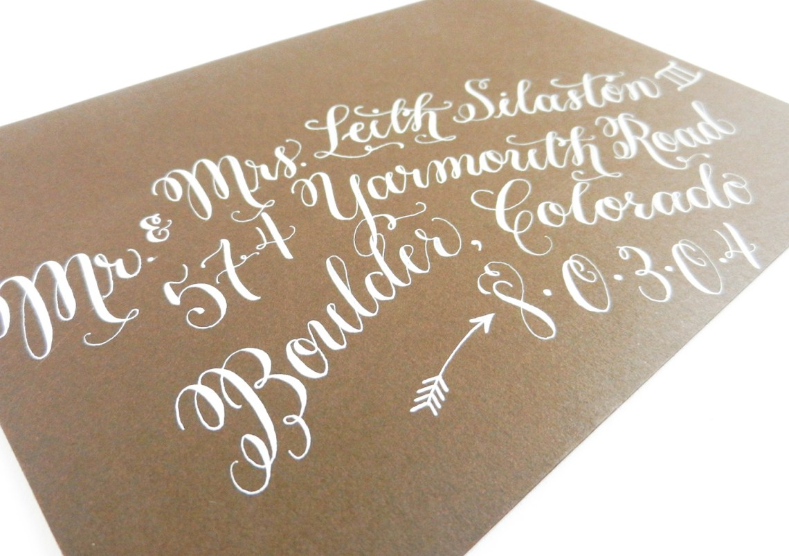 Ideas for Unique Modern Calligraphy   The Postman's Knock