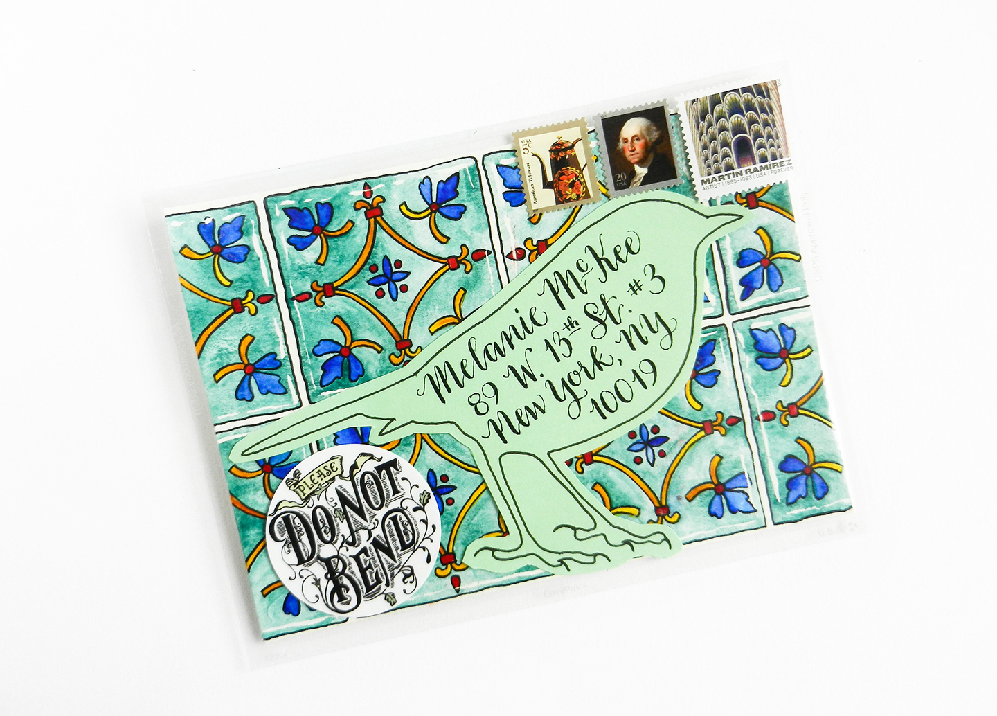 Amy Style Standard Calligraphy Worksheet