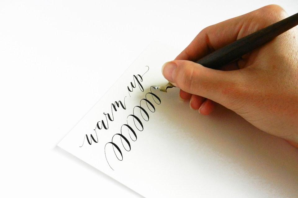 Calligraphy Troubleshooting: Nib Pressure & Shaking Hand | The Postman's Knock