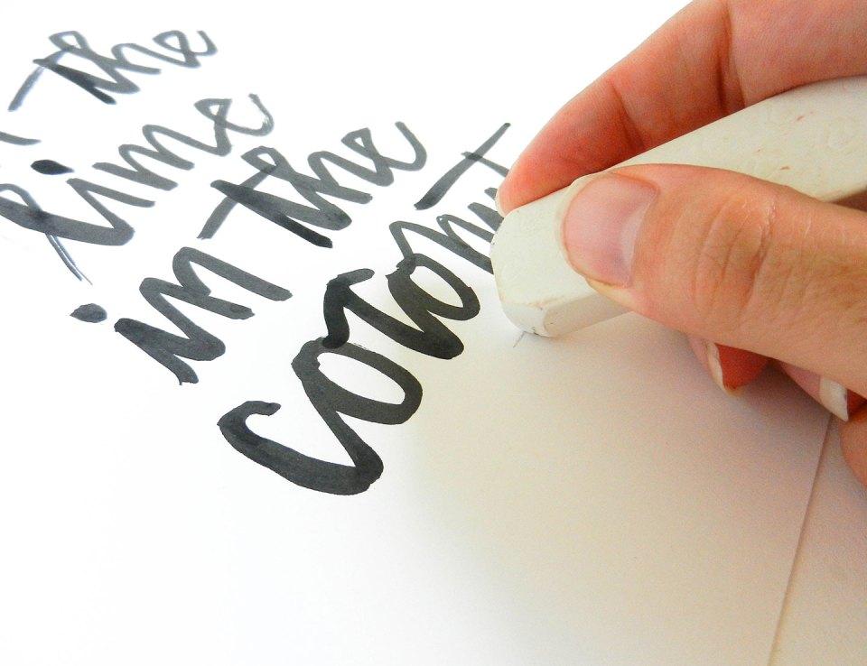 Simple Modern Brush Lettering Tutorial