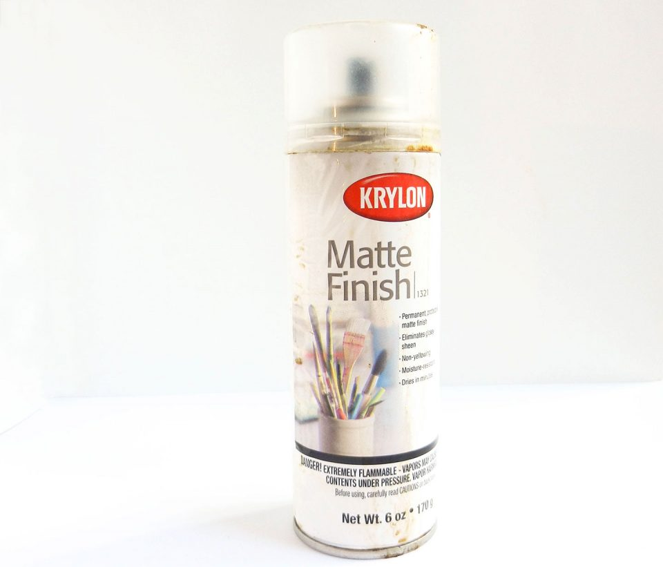 Matte Fixative | The Postman's Knock