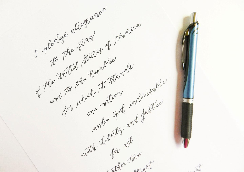 Seven New Calligraphy Tips to Make Life Easier | The Postman's Knock