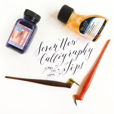 Seven New Calligraphy Tips + A Weekend Giveaway