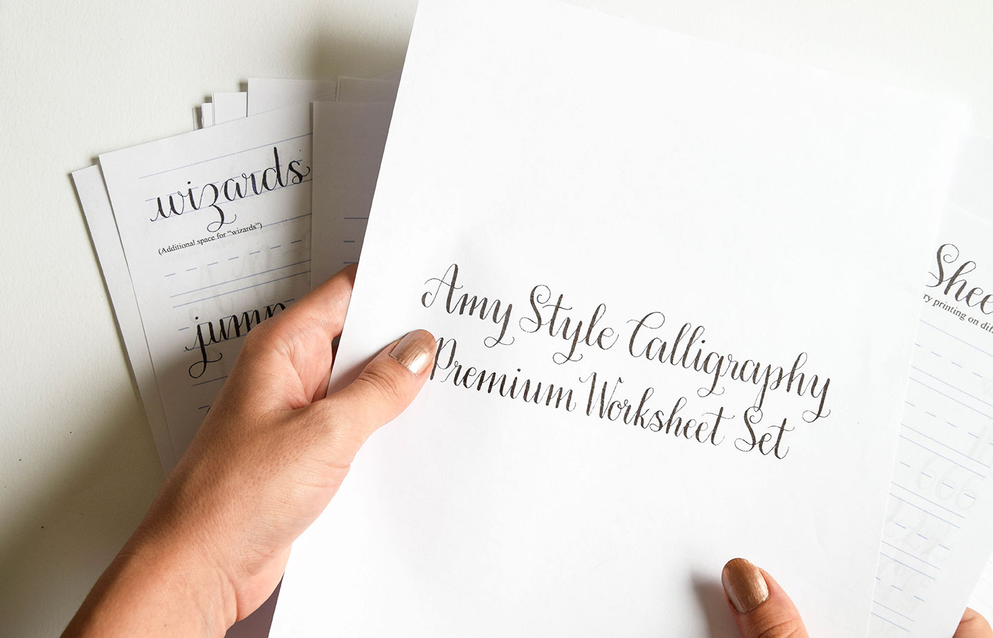 Introducing The Amy Style Learn Calligraphy For A Latte