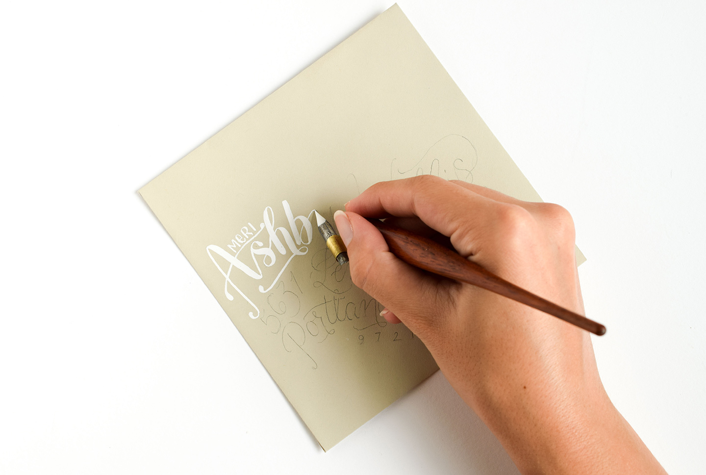 Breezy Hand-Lettering Tutorial | The Postman's Knock