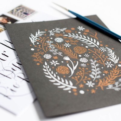 Creating Gold Calligraphy: How to Use the Finetec Palette