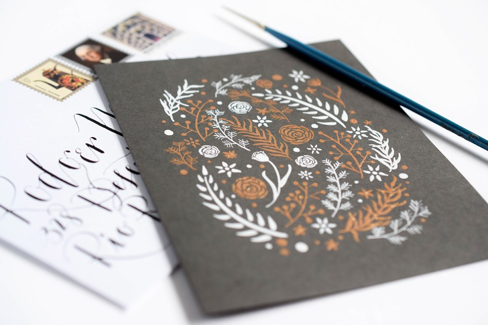 Instant Gold Ink: How to Use the Finetec Palette (Includes Videos) | The Postman's Knock
