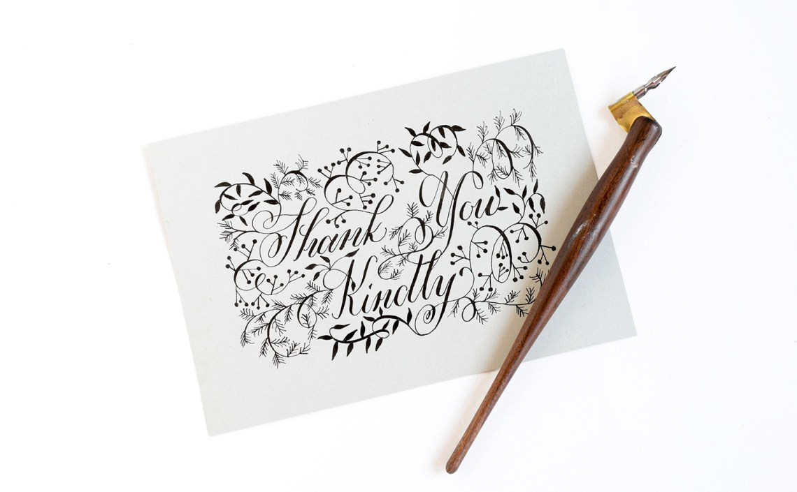 Three Fresh Lettering Styles to Try   The Postman's Knock