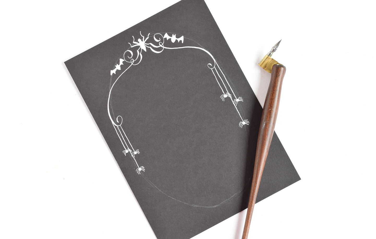 3 Artistic Halloween Stationery Projects | The Postman's Knock