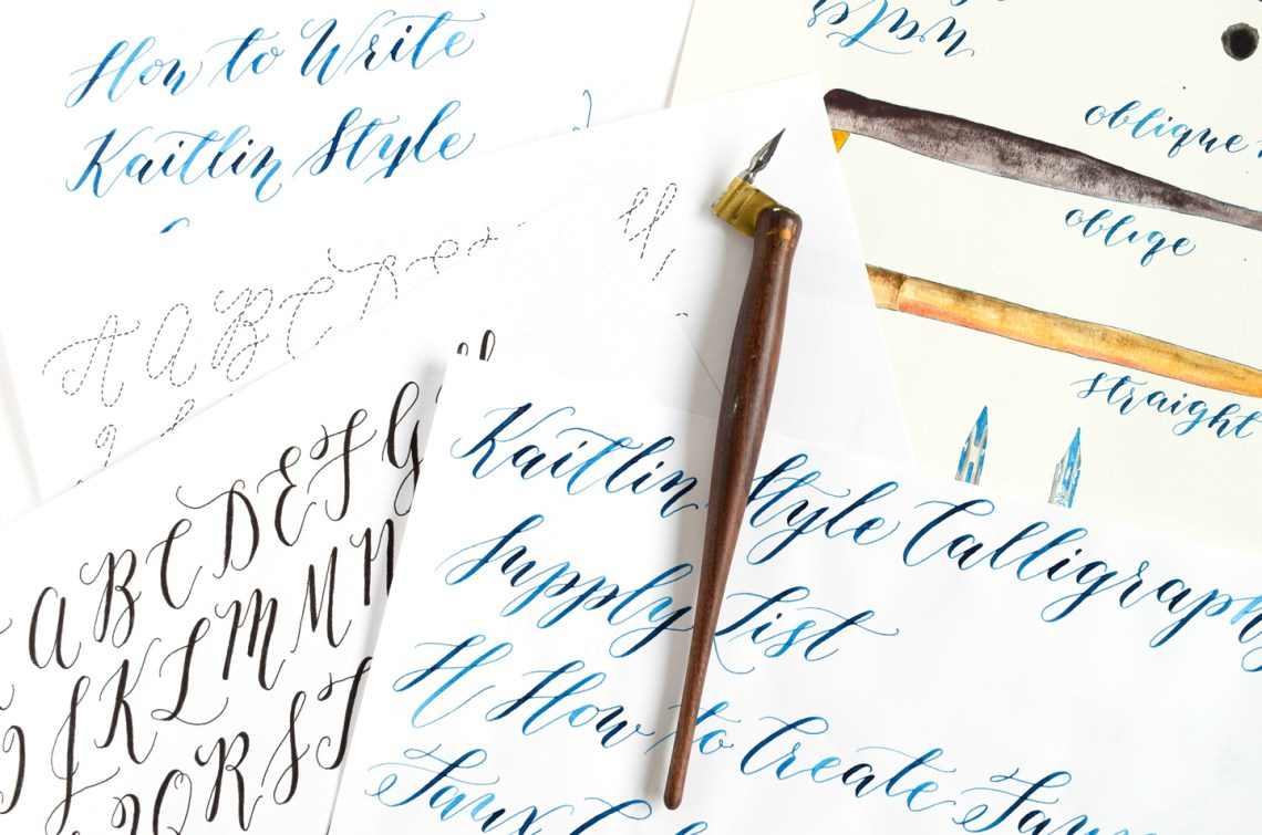 Calligraphy Nib Spotlight: The Brause EF66 | The Postman's Knock