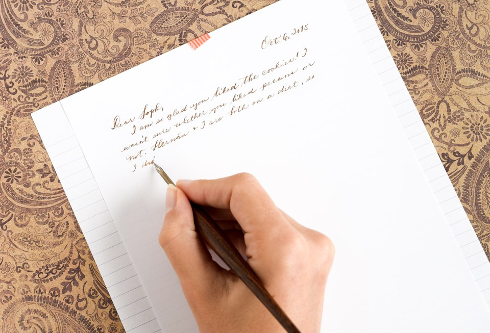 Quill Writing 3 Ways to Use a Crow Q...