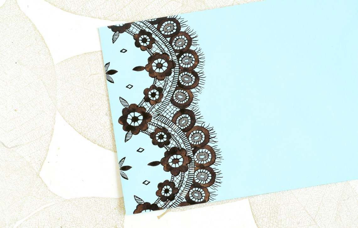 How to Draw Lace | The Postman's Knock