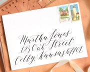 Kaitlin Style Calligraphy Video Course   The Postman's Knock