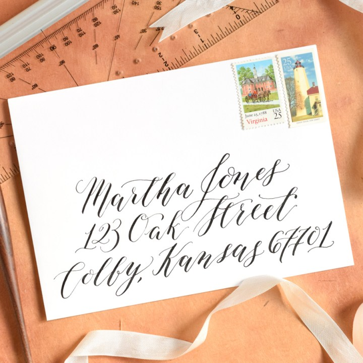 Kaitlin Style Calligraphy Video Course | The Postman's Knock