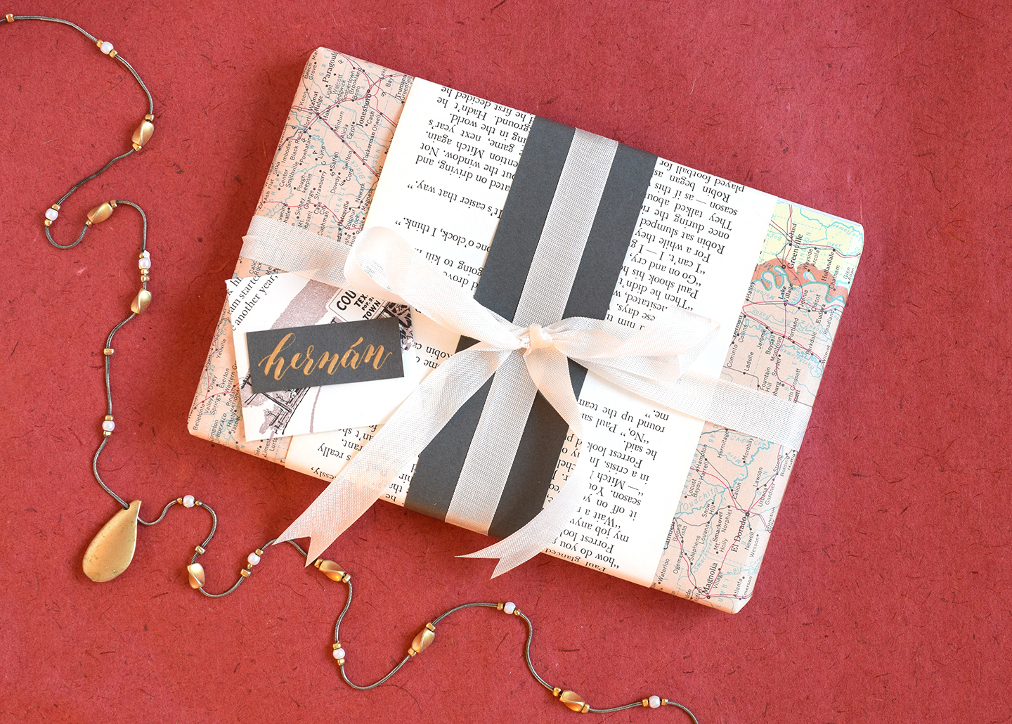 DIY Holiday Gift Tags Tutorial | The Postman's Knock