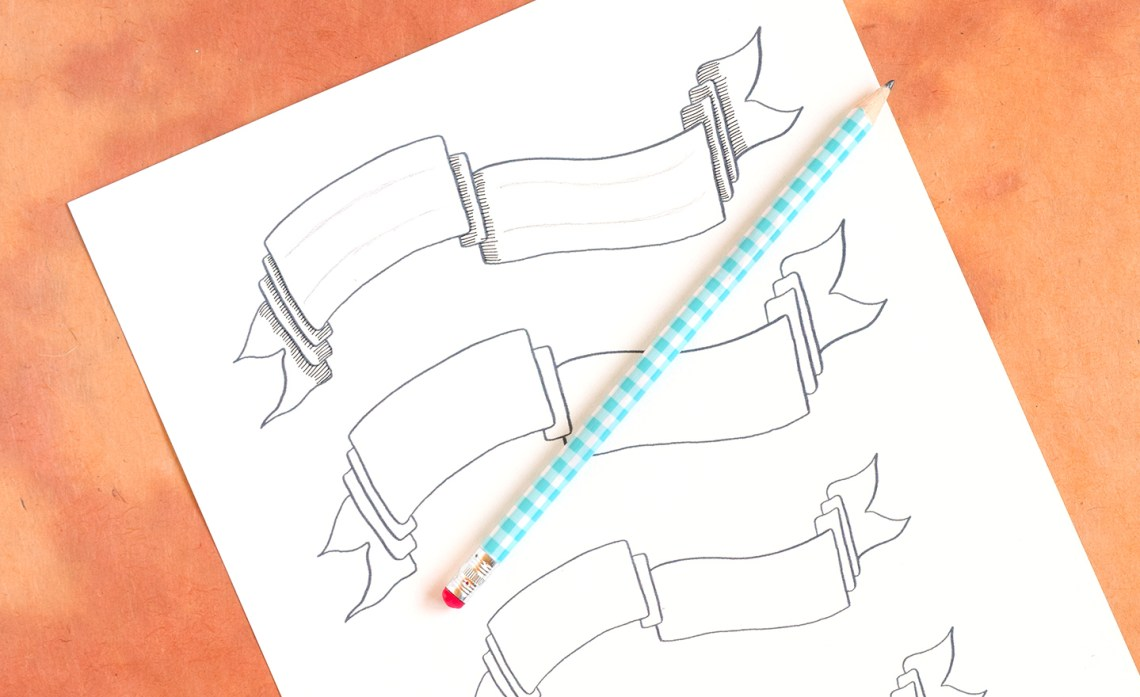 DIY Holiday Card + Artistic Envelope Tutorial | The Postman's Knock