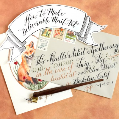 How to Make Deliverable Mail Art