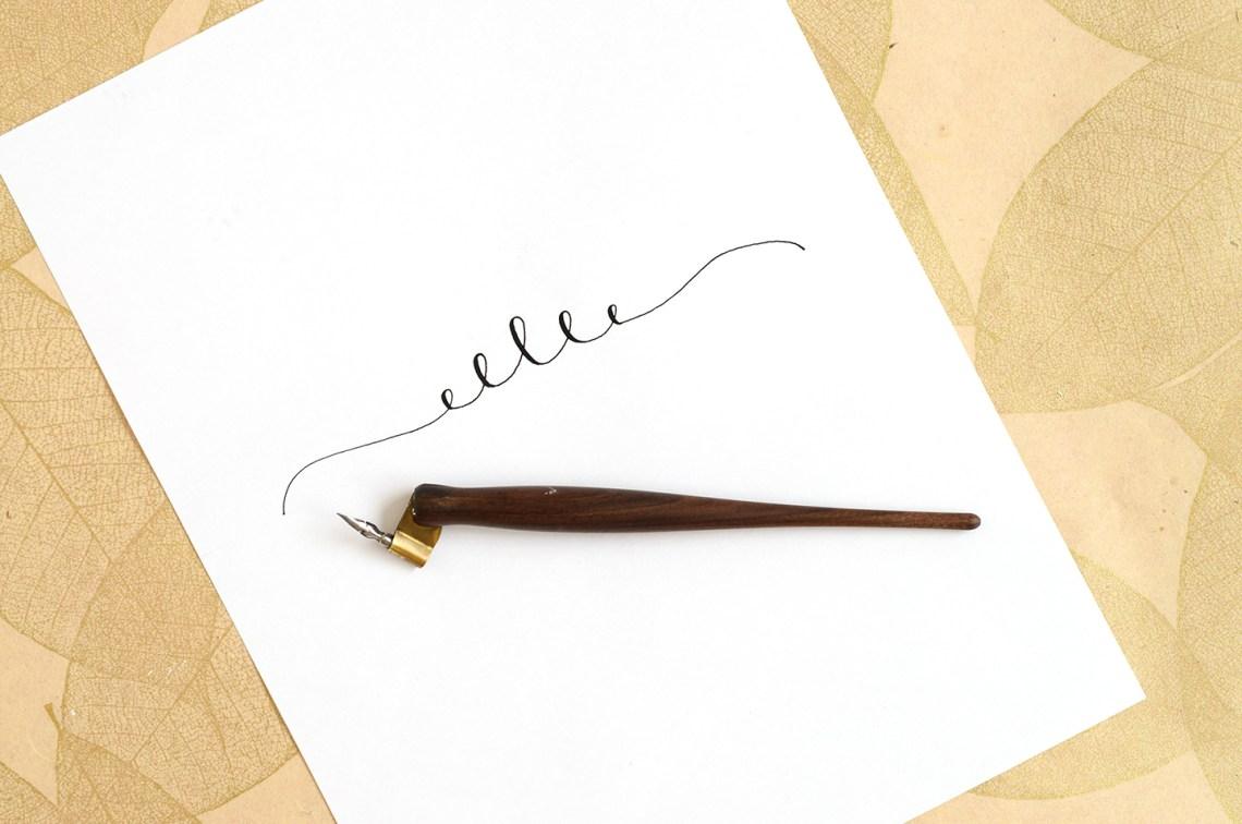 Calligraphy Swirls Tutorials (Part I) | The Postman's Knock