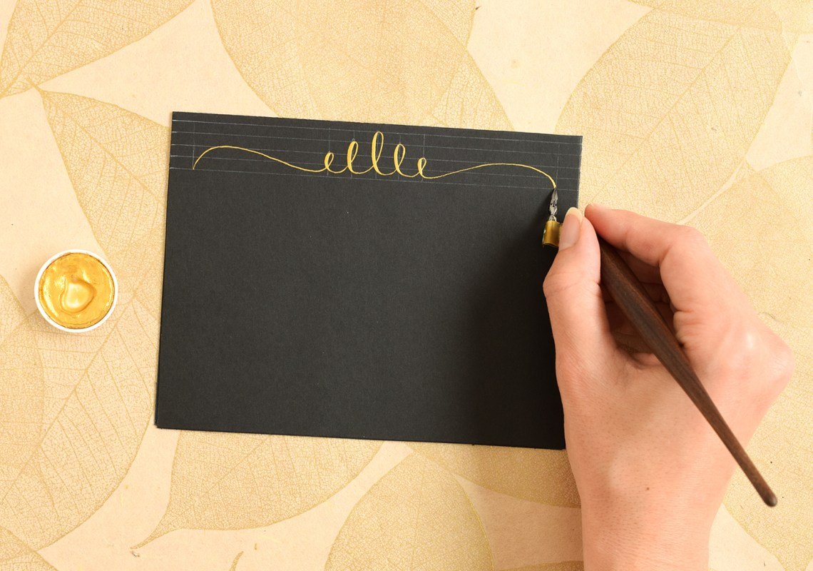 Calligraphy Swirls Tutorials (Part I) | The Postman's Knock