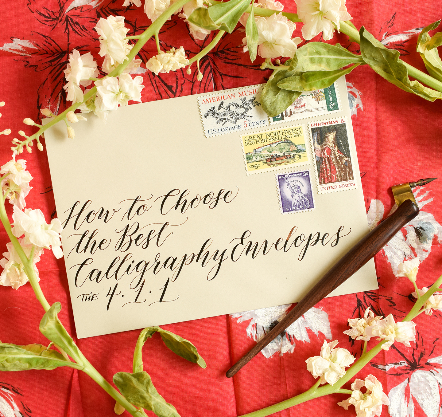 Professional Calligraphy Place Cards on High Quality Crane Paper