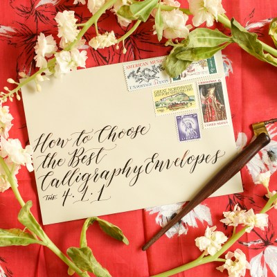 How to Choose the Best Calligraphy Envelopes