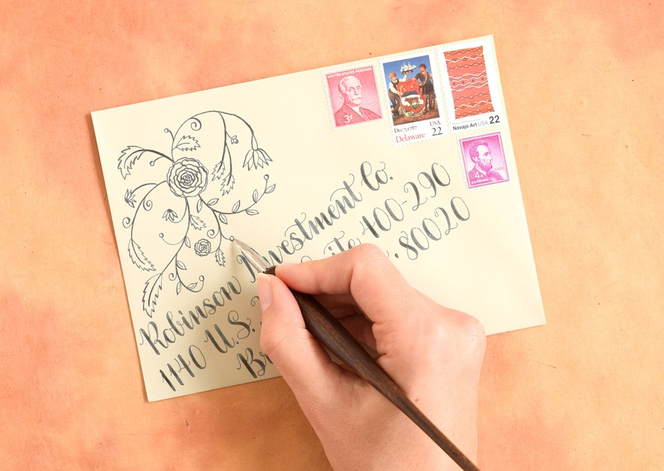 Design Motif Tutorials Part I: Roses and Swirls | The Postman's Knock