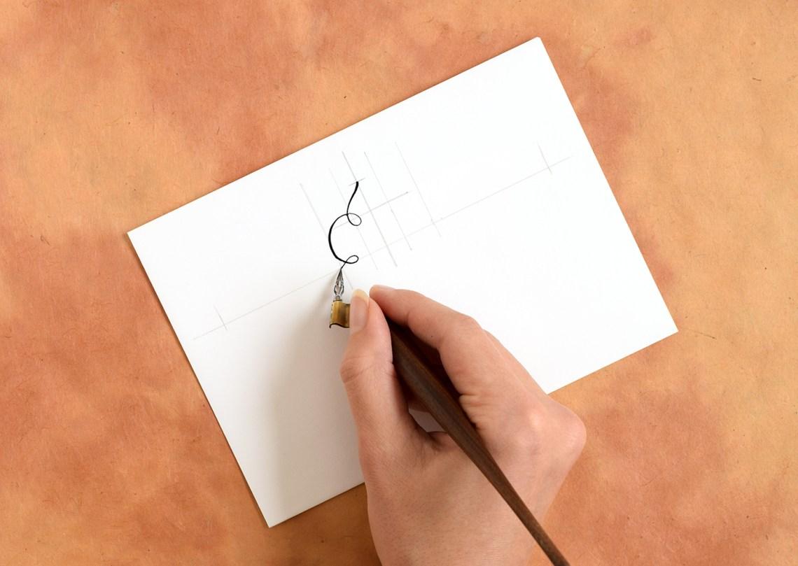 Calligraphy Swirls Tutorials (Part II) | The Postman's Knock