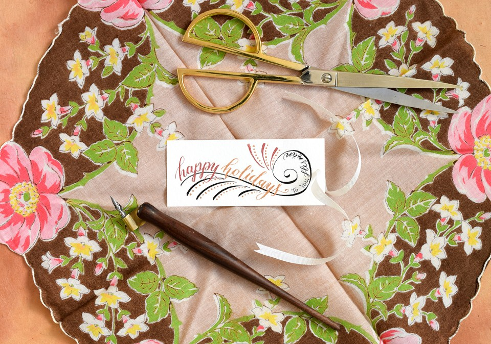 Calligraphy Swirls Tutorials (Part II) | The Postman's Knock