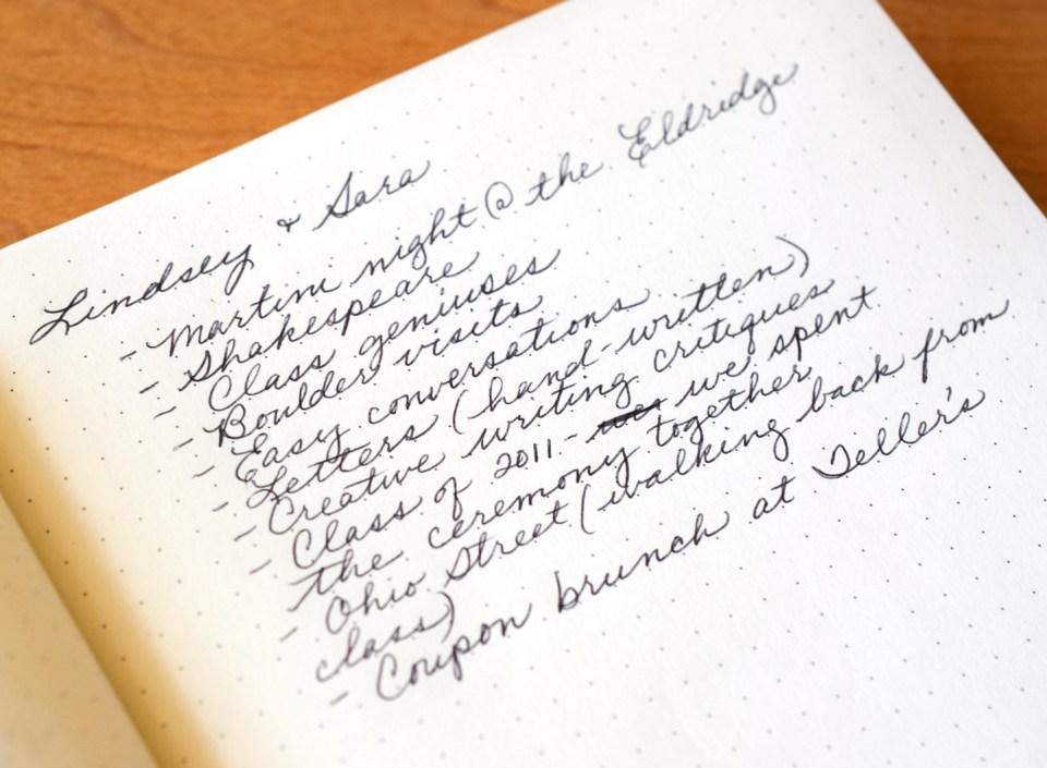 List of memories