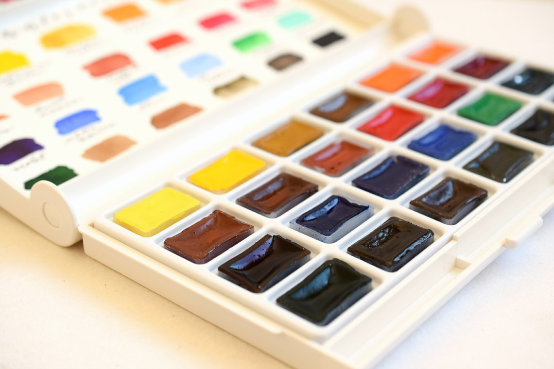 Yarka Watercolor Paints | The Postman's Knock