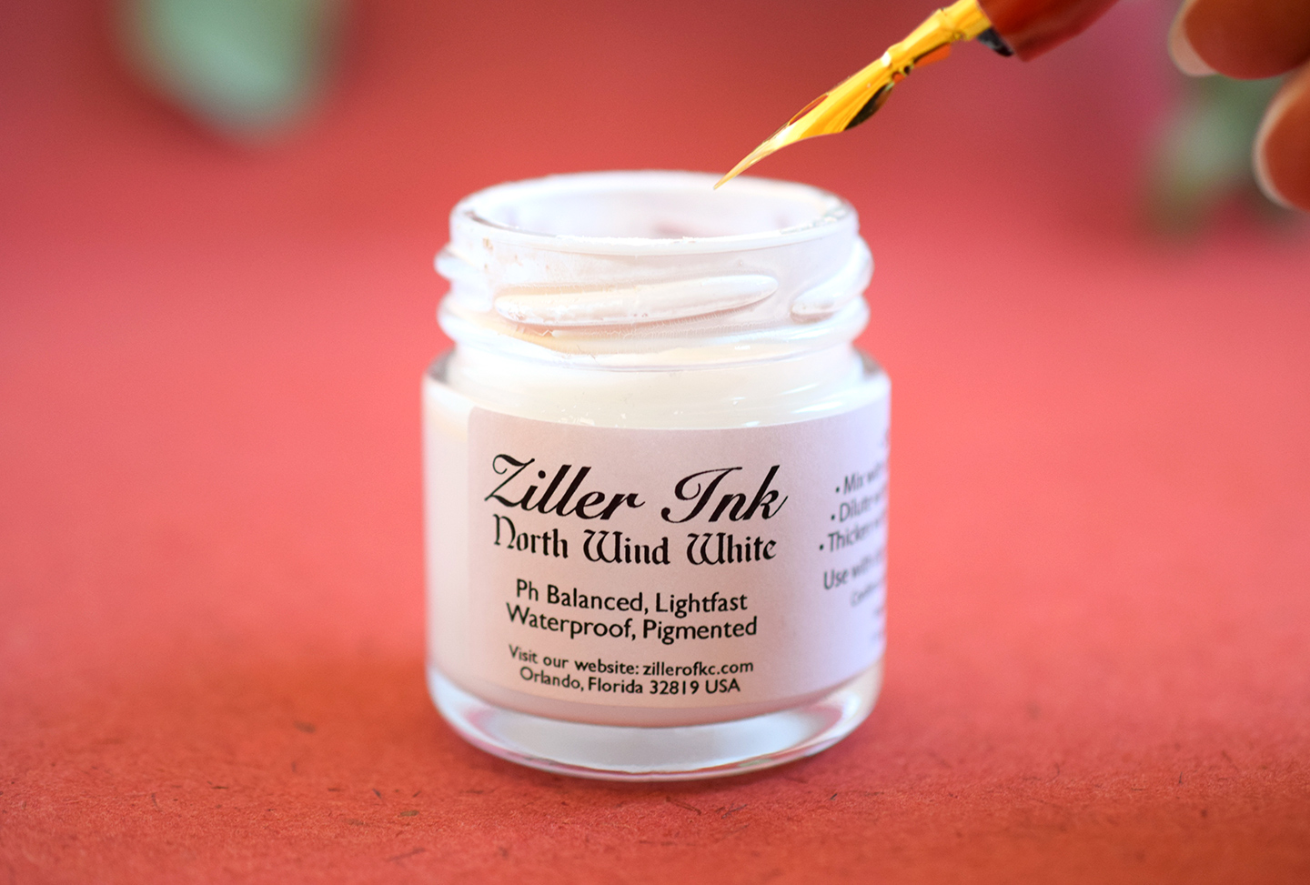 Ziller North Wind White Ink | The Postman's Knock