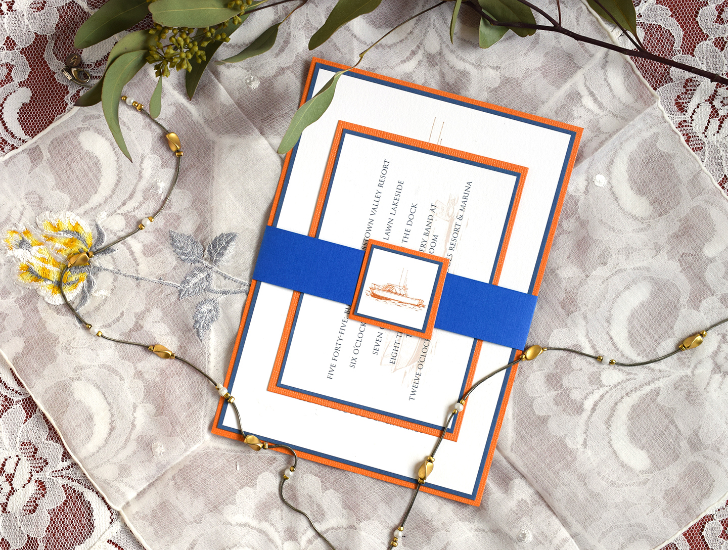 Wedding Invitation Bands