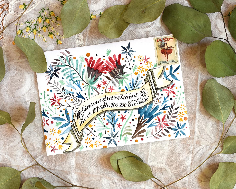 Three Envelope Art Mini-Tutorials   The Postman's Knock