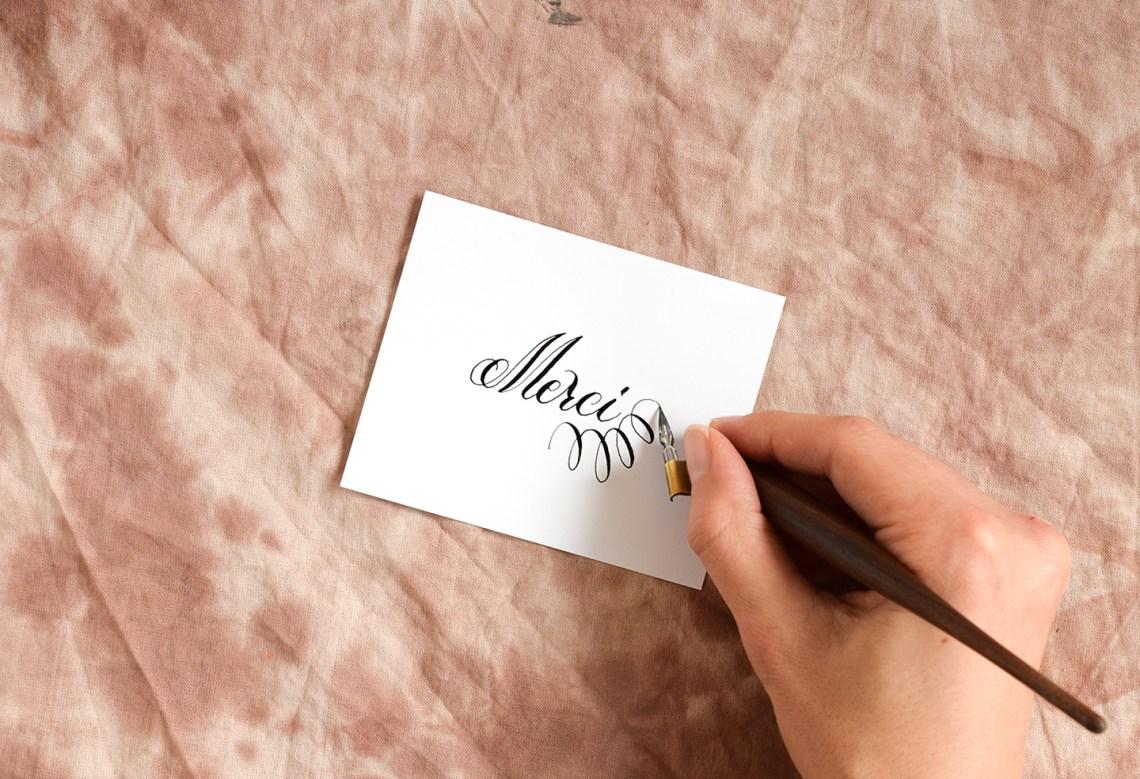 Three Simple Calligraphy Flourishes   The Postman's Knock