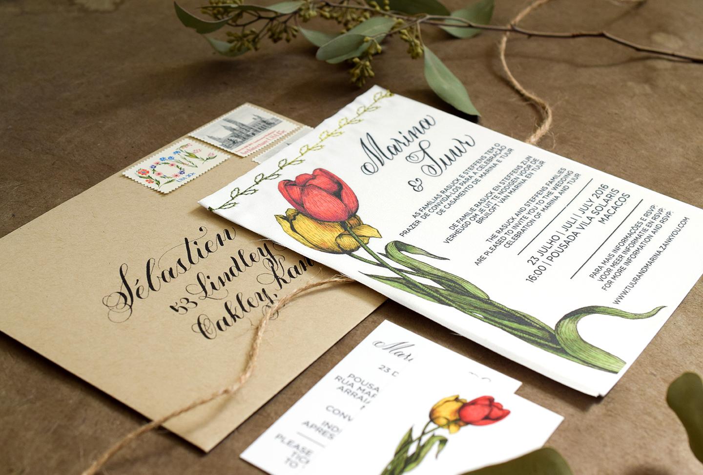 Fabric Wedding Invitations: DIY Fabric Invitations