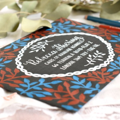 Laurel Branch Decorated Envelopes Tutorial (Includes Giveaway)