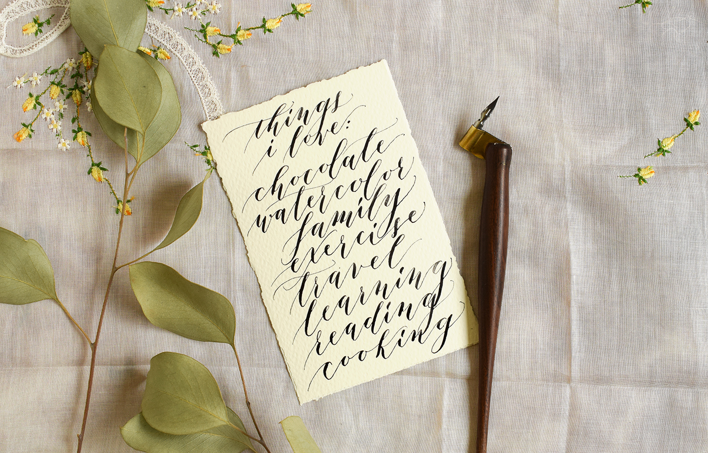 Calligraphy Before And After Photos