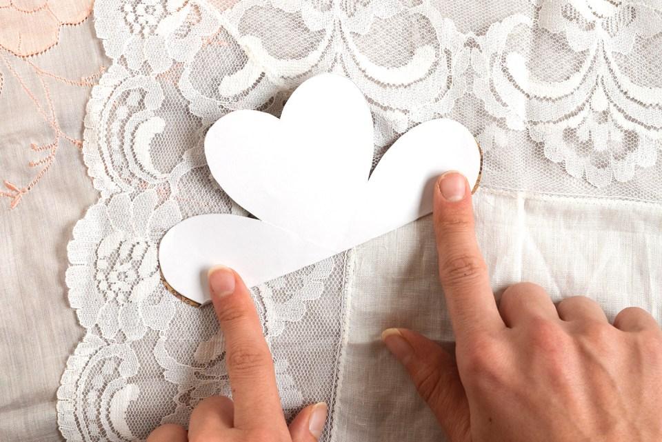 Folded Heart Handmade Card Tutorial | The Postman's Knock