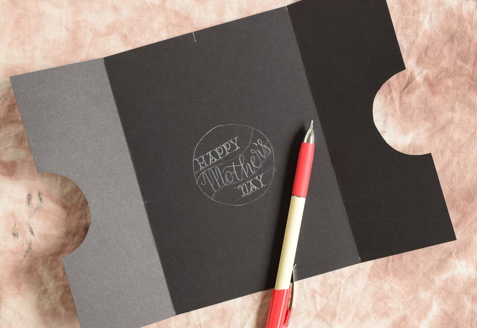 Mothers day card tutorial the postmans knock
