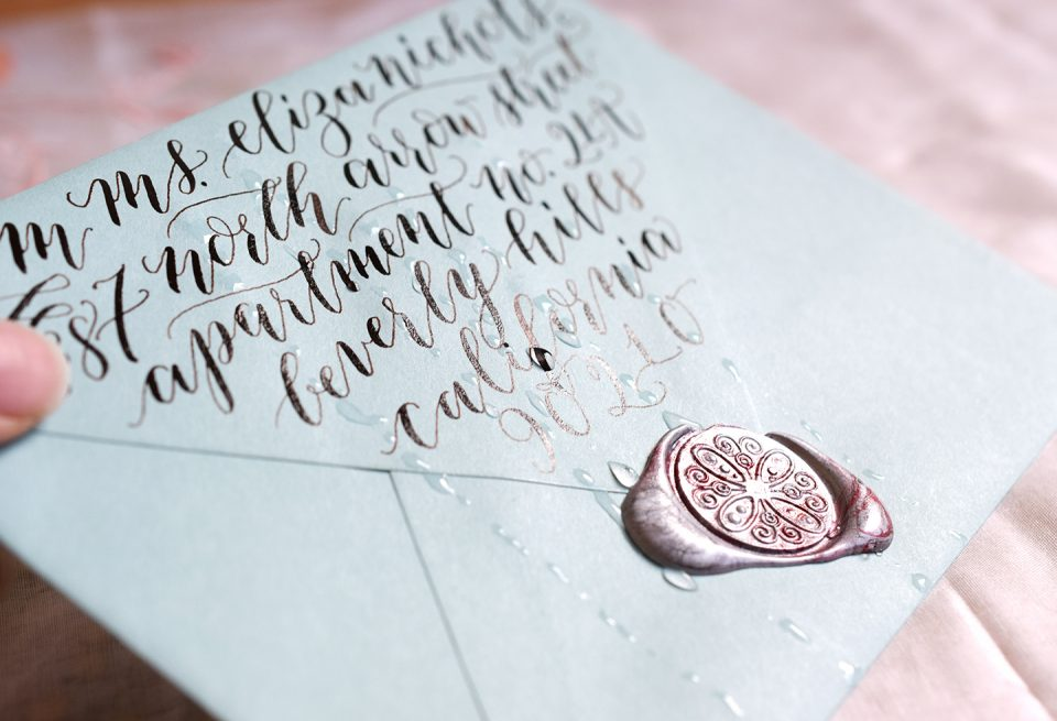 How to Waterproof Paper | The Postman's Knock