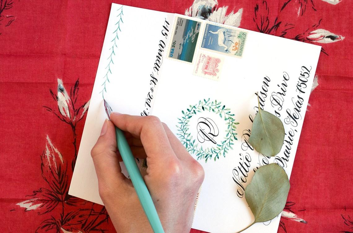 Woodland Watercolor Wreath Tutorials: Part II | The Postman's Knock